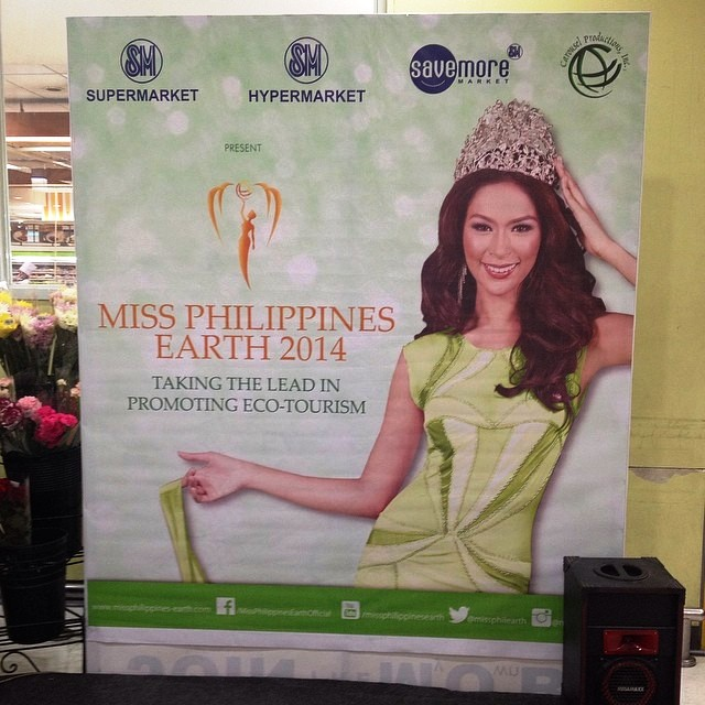 Miss Earth Candidates' Presentation at SM Supermarket