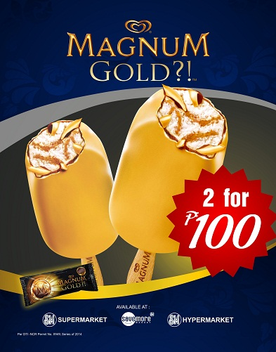 Magnum Gold 2 For 100