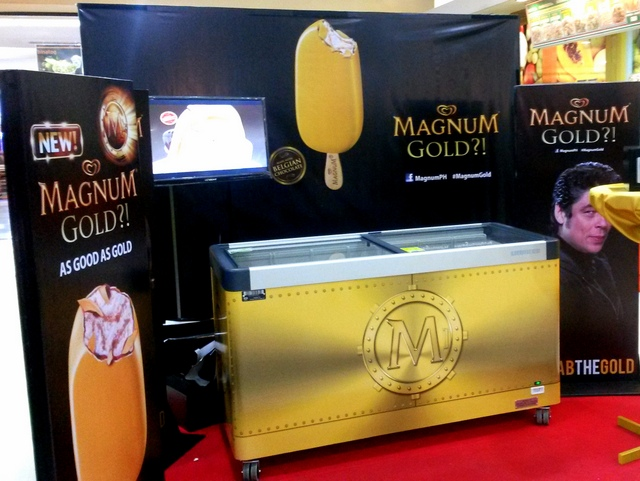SM Supermarket Magnum Gold Station
